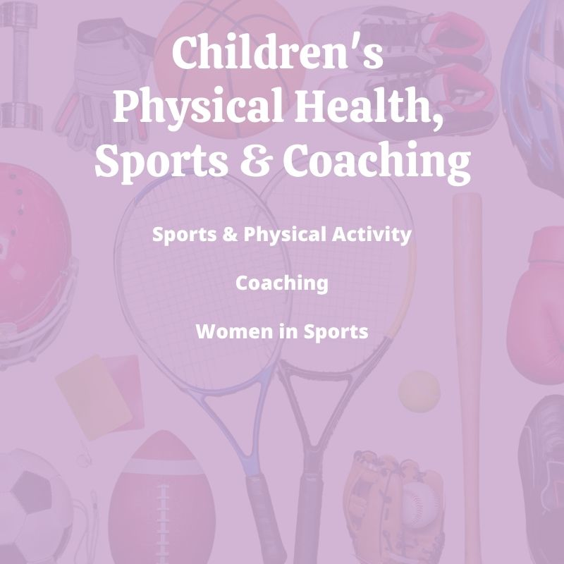 Parenting Books on Children's Physical Health, Sports & Coaching