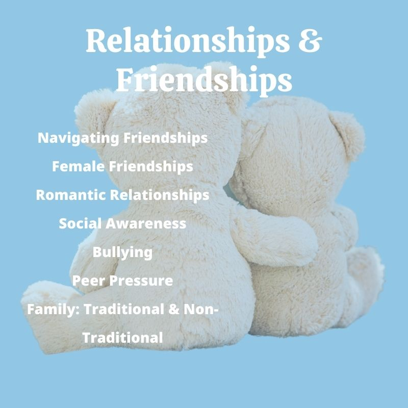 Children's Books with Relationship + Friendship Themes
